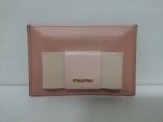 miumiu(ミュウミュウ)/パスケース