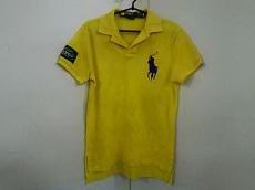 ポロラルフローレン 半袖ポロシャツ S メンズ ビッグポニー イエロー
