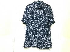 ポロラルフローレン 半袖ポロシャツ L メンズ ダークネイビー×白