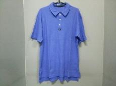新品同様 ポロラルフローレン 半袖ポロシャツ メンズ L ブルー