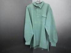ポロラルフローレン 長袖ポロシャツ L メンズ美品  グリーン