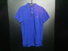ポロラルフローレン 半袖ポロシャツ S メンズ ブルー×レッド