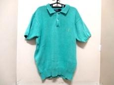 ポロラルフローレン 半袖ポロシャツ L メンズ エメラルドグリーン