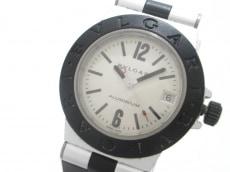 ブルガリ 腕時計 アルミニウム AL32TA レディース シルバー