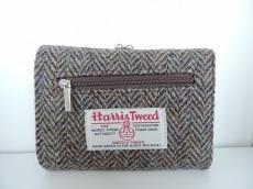 Harris Tweed(ハリスツイード)の3つ折り財布