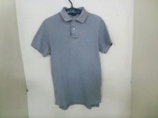 ポロラルフローレン 半袖ポロシャツ S メンズ グレー CUSTOM FIT