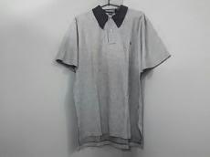 ポロラルフローレン 半袖ポロシャツ M メンズ 黒×白 ニット