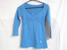 バレンシアガ 七分袖セーター 36 レディース 美品 ブルー KNITS
