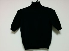 ブルックスブラザーズ 半袖セーター M レディース 黒
