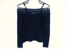 ブルマリン 半袖セーター 40(I) レディース 美品 黒 BLUMARINE