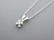 ヴァンドーム青山 ネックレス 美品 K18WG×ダイヤモンド VENDOME