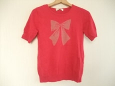 ジェーンマープル 半袖セーター M レディース 美品 ピンク