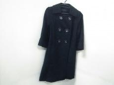 トゥービーシック コート 40 レディース 美品 黒 刺繍/春・秋物