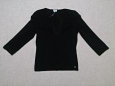 フォクシー 長袖セーター 42 レディース 美品 黒 FOXEY
