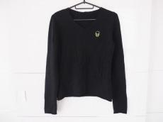 ルシアンペラフィネ 長袖セーター S レディース 黒×グリーン