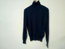 バーバリー 長袖セーター サイズM レディース 美品 ネイビー