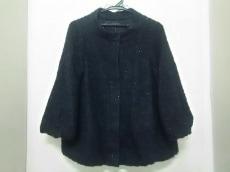 アメリカンラグシー コート レディース 美品 黒×マルチ