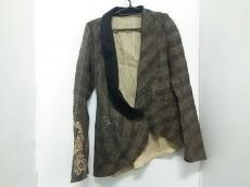 イフシックスワズナイン ジャケット 1 メンズ ベージュ×黒 刺繍