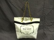 oeuf doux(ウフドゥ)のトートバッグ