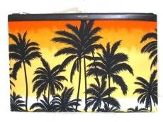 サンローランパリ バッグ 美品 378261 黒×オレンジ×レッド