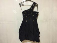 ビーシービージーマックスアズリア ドレス S レディース 美品 黒