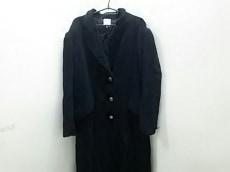ロエベ コート 42 レディース 美品 黒 冬物/カシミヤ LOEWE