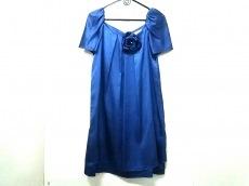 エメ ドレス 9 レディース 美品 ブルー aimer