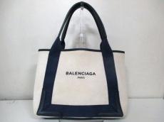 バレンシアガ トートバッグ ネイビーカバス 339933 BALENCIAGA
