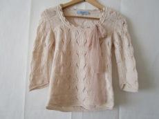 ブルマリン 七分袖セーター 40(I) レディース アイボリー