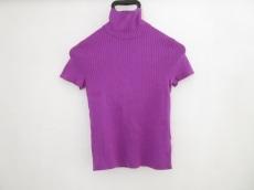 ラルフローレン 半袖セーター M レディース 美品 パープル