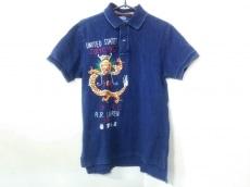 ポロラルフローレン 半袖ポロシャツ M メンズ新品同様  刺繍