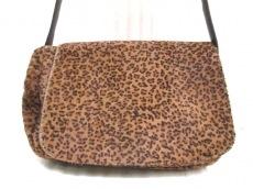 ボッテガヴェネタ ショルダーバッグ - - 豹柄 ハラコ×レザー