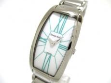 ティファニー 腕時計 美品 ジェメア レディース 白