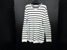 ニールバレット 長袖セーター S メンズ 美品 白×黒 ボーダー