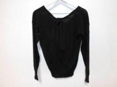 クロエ 長袖セーター T XS レディース 美品 黒 リボン/Vネック