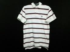 ポロラルフローレン 半袖ポロシャツ M メンズ美品  ボーダー