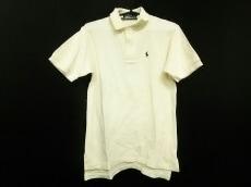 ポロラルフローレン 半袖ポロシャツ S メンズ美品  アイボリー