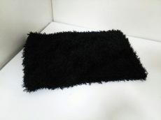 ムルーア マフラー 黒 スヌード 化学繊維 MURUA
