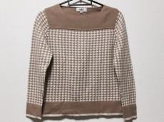 ジユウク 長袖セーター 38 レディース 美品 千鳥格子