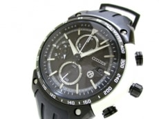 CITIZEN(シチズン) 腕時計 美品 B612-S081033 メンズ 黒