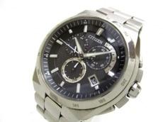 CITIZEN(シチズン) 腕時計 アテッサ E610-T018505 メンズ 黒
