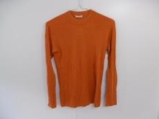 プリーツプリーズ 長袖セーター 3 レディース オレンジ