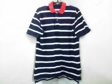 ポロラルフローレン 半袖ポロシャツ M メンズ ネイビー×白×レッド