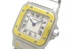 カルティエ 腕時計 サントスガルベSM W20012C4 レディース 白