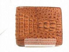 Crocodile Skin(クロコダイルスキン)/札入れ