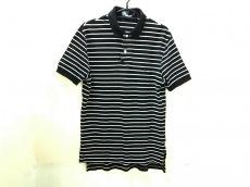 ポロラルフローレン 半袖ポロシャツ サイズM メンズ美品  黒×白