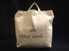 niko and...(ニコアンド)のトートバッグ