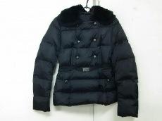 モンクレール ダウンジャケット レディース 美品 AGREMOINE 黒