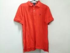 ポロラルフローレン 半袖ポロシャツ XL(18-20) メンズ美品  レッド