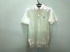 ポロラルフローレン 半袖ポロシャツ サイズ【M】 メンズ アイボリー